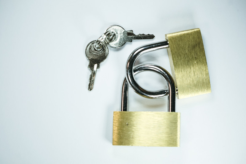 盗難対策のカギ