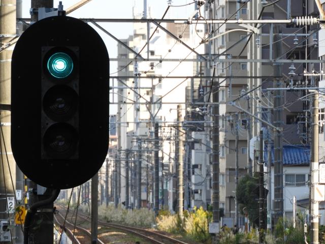 電車の信号機