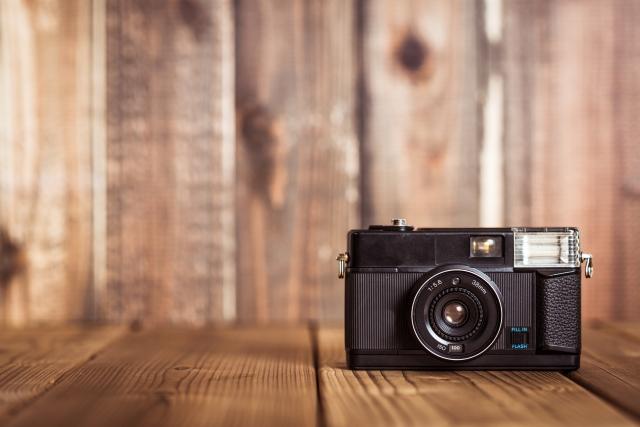 カメラで写真を撮る