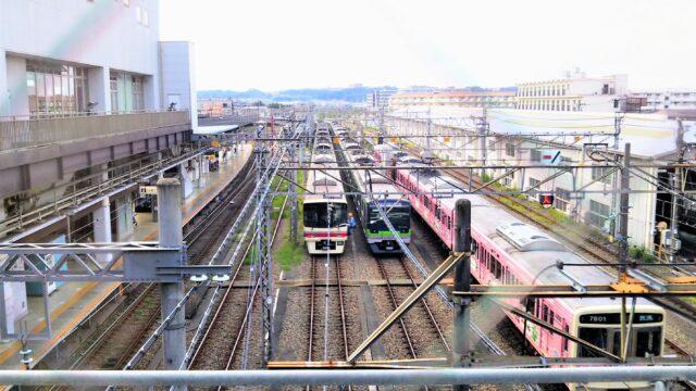 高幡不動検車区(京王線の車両)