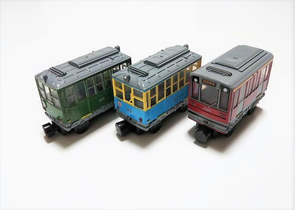 箱根登山電車のマグネットおもちゃ
