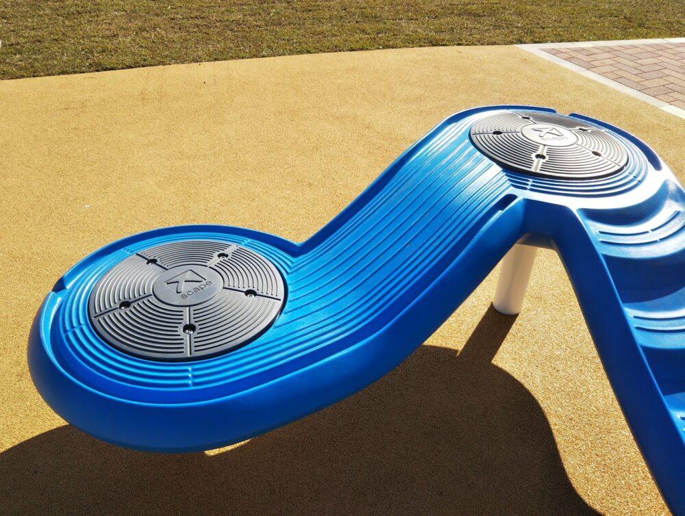 スポレク公園のクライミング遊具