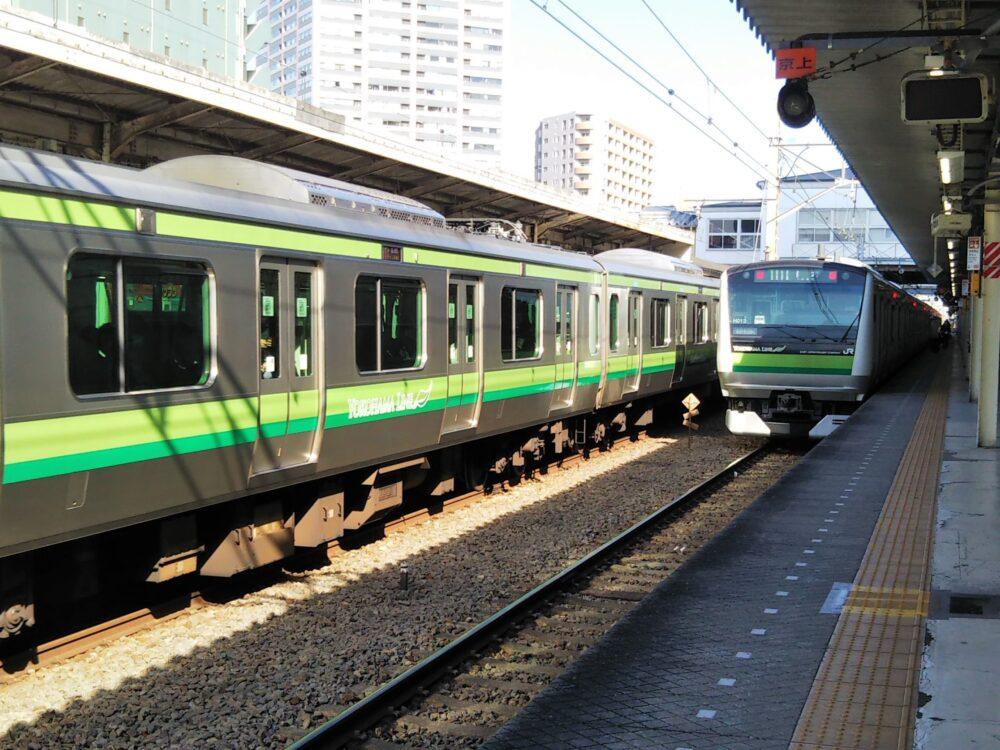 横浜線の電車
