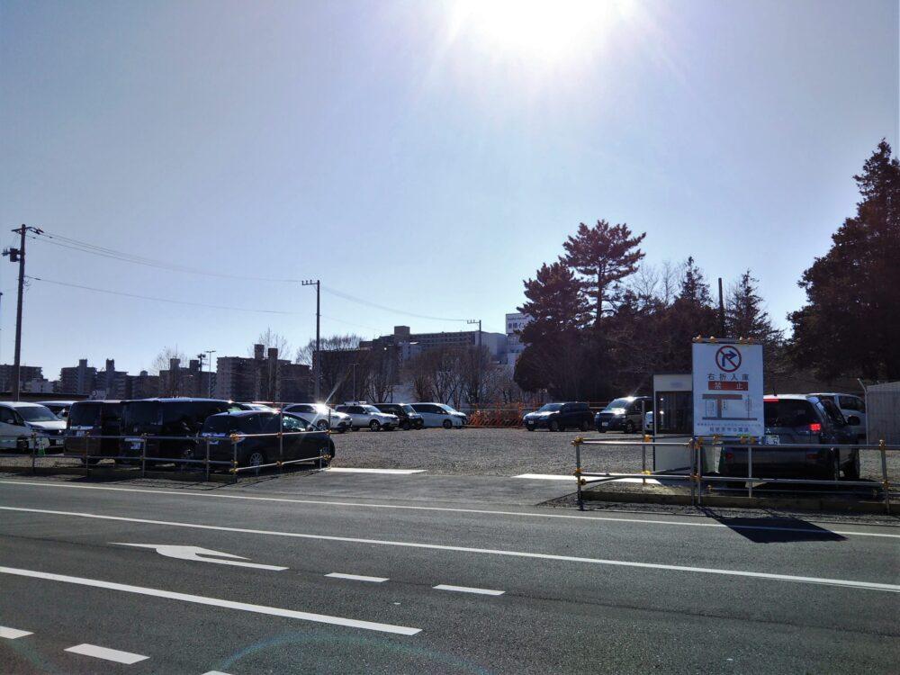 スポレク公園の一般駐車場