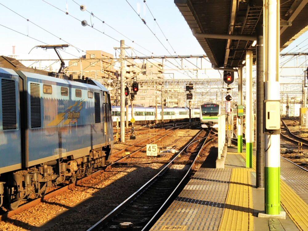 JR横浜線八王子駅の桜木町方面側ホーム