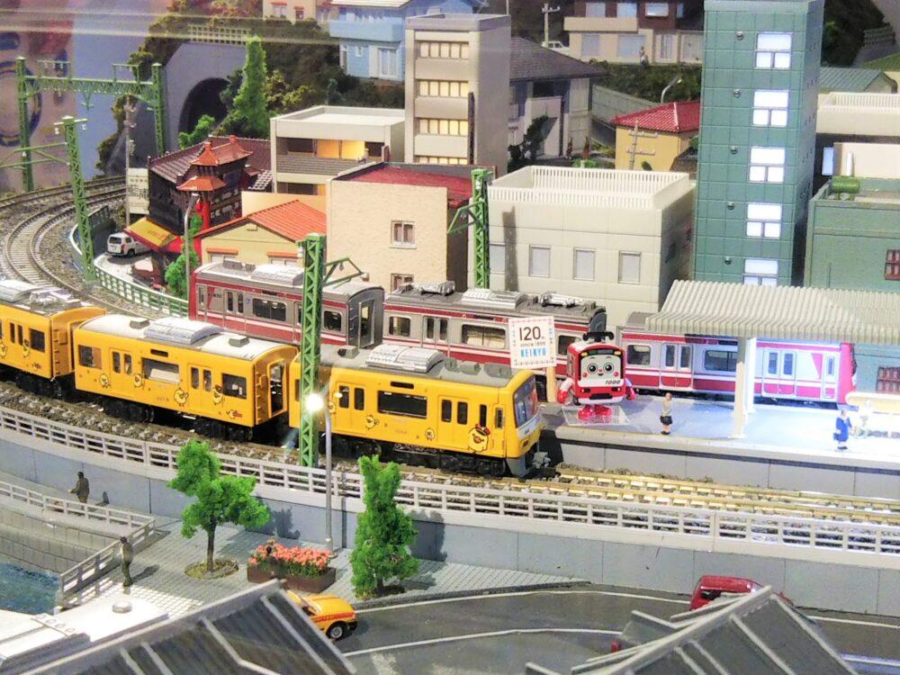おとどけいきゅう横浜大さん橋店の鉄道模型