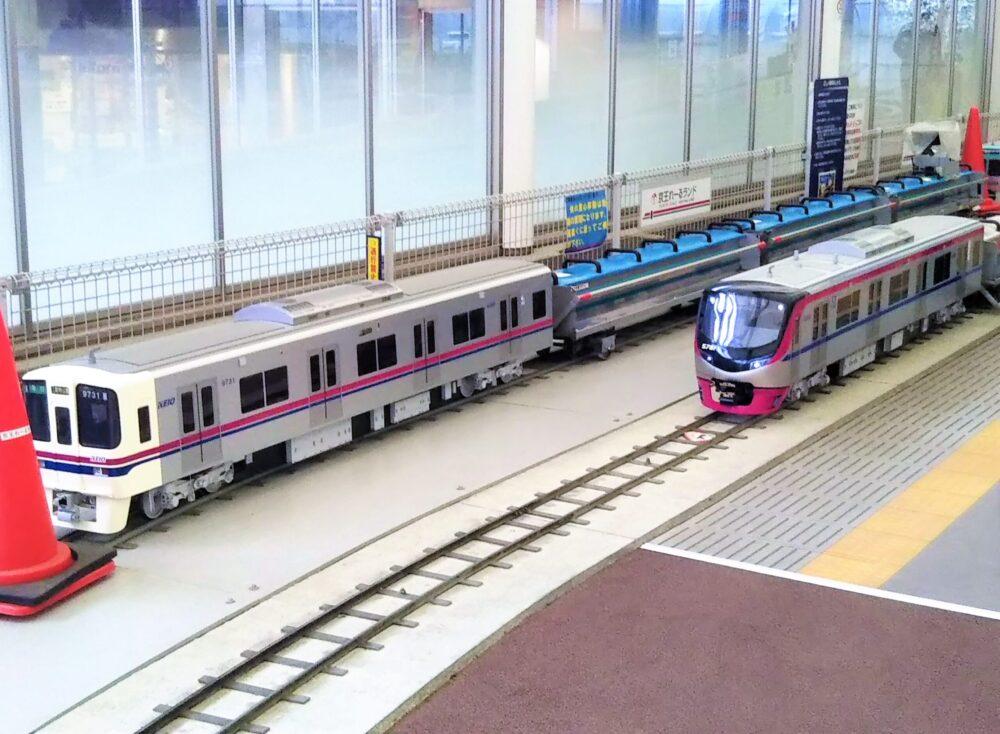 京王れーるランドのミニ電車