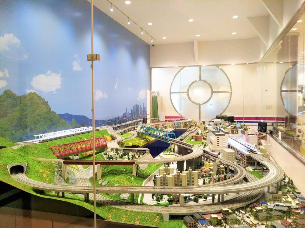 京王れーるランドの鉄道模型コーナー