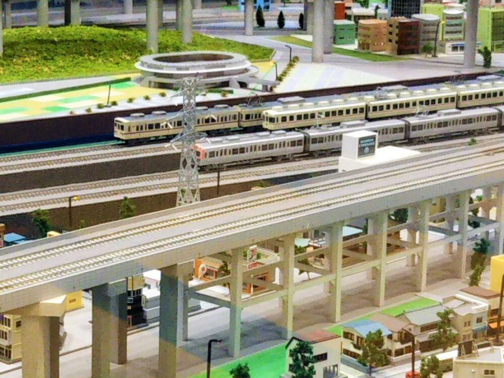 京王れーるランドの鉄道模型