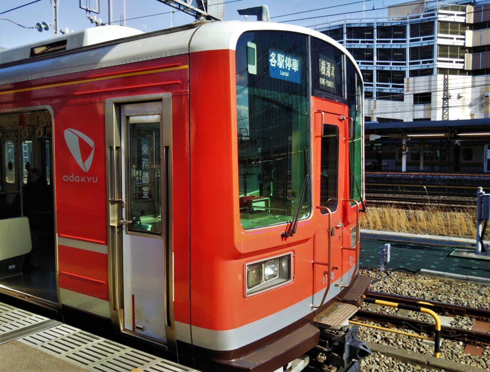 箱根登山電車の先頭車両