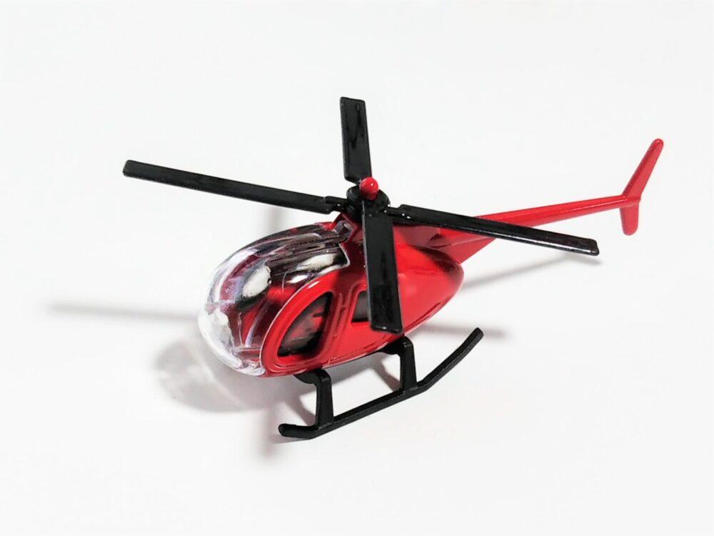 「最強のりものヒーローズ」付録のおもちゃ(ヘリコプター)