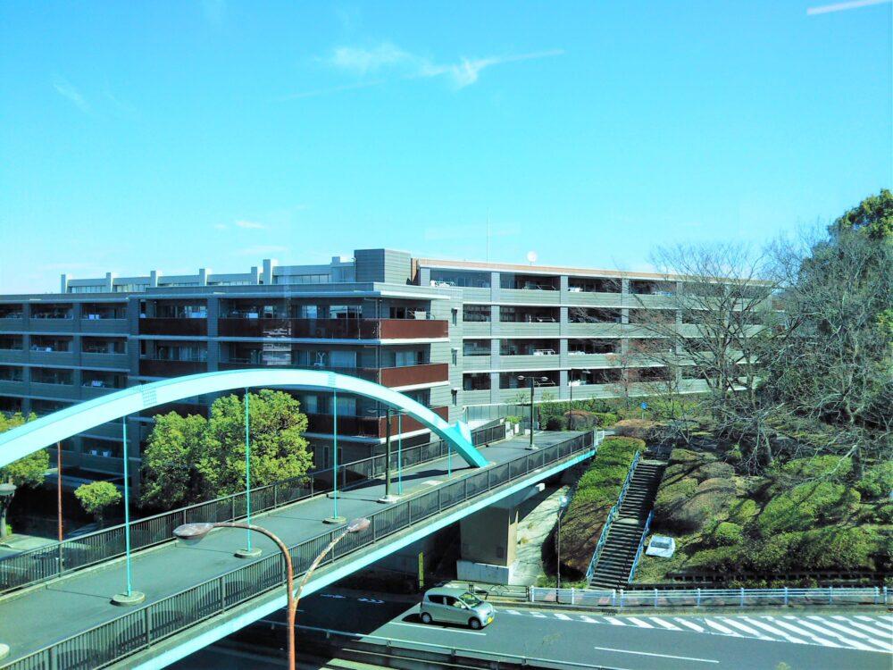 大塚東公園に繋がる橋