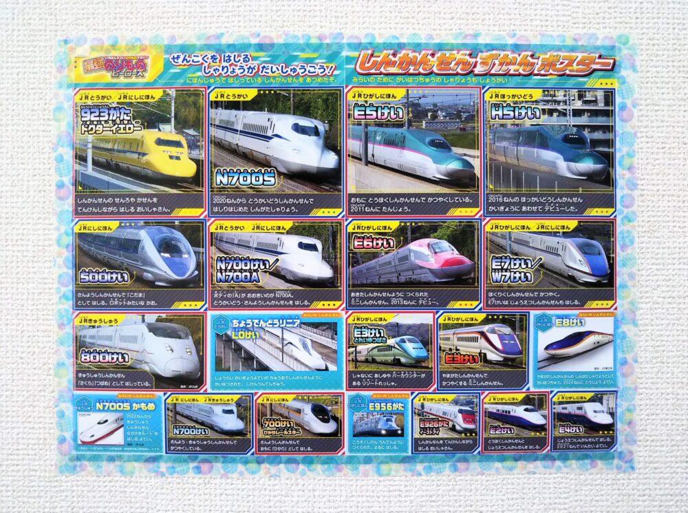 新幹線のポスター