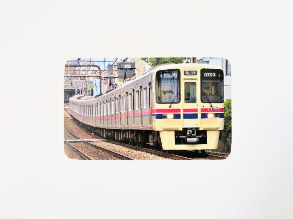 電車カード(京王9000系)