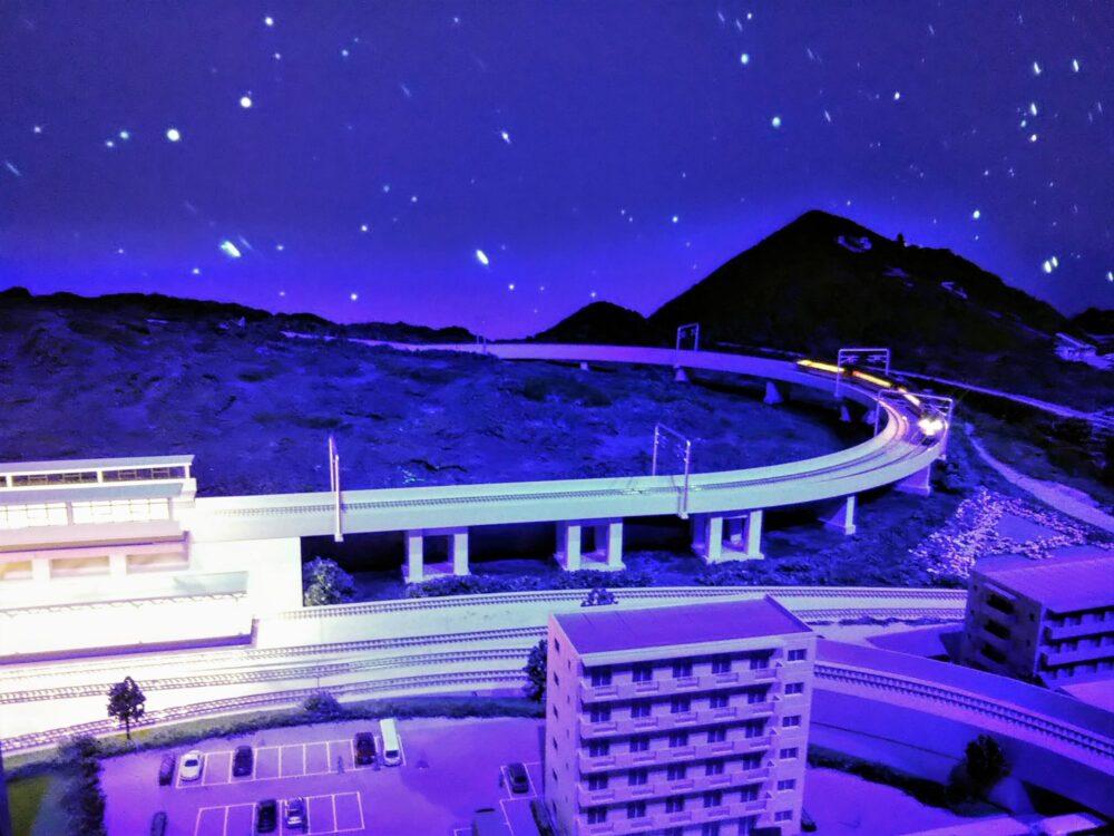 ロマンスカーミュージアム ジオラマパークの運転体験(ロマンスカーGSE)