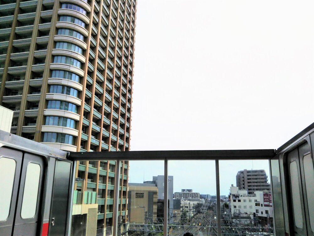 東急スクエア 展望デッキから見える空