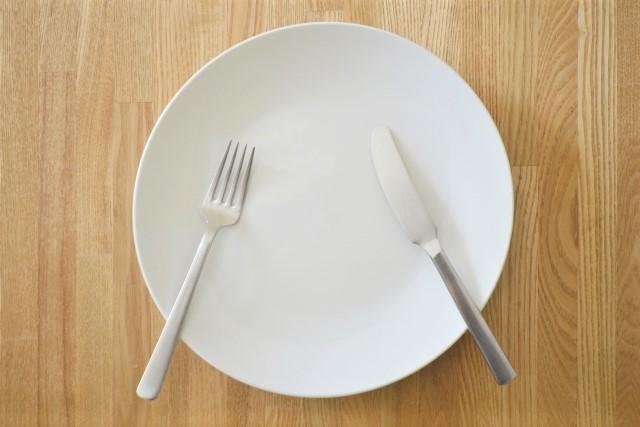 お皿とフォーク&スプーン