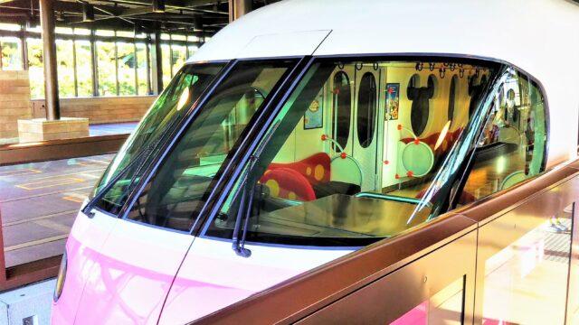 ディズニーリゾートライン|新型車両ピンク色