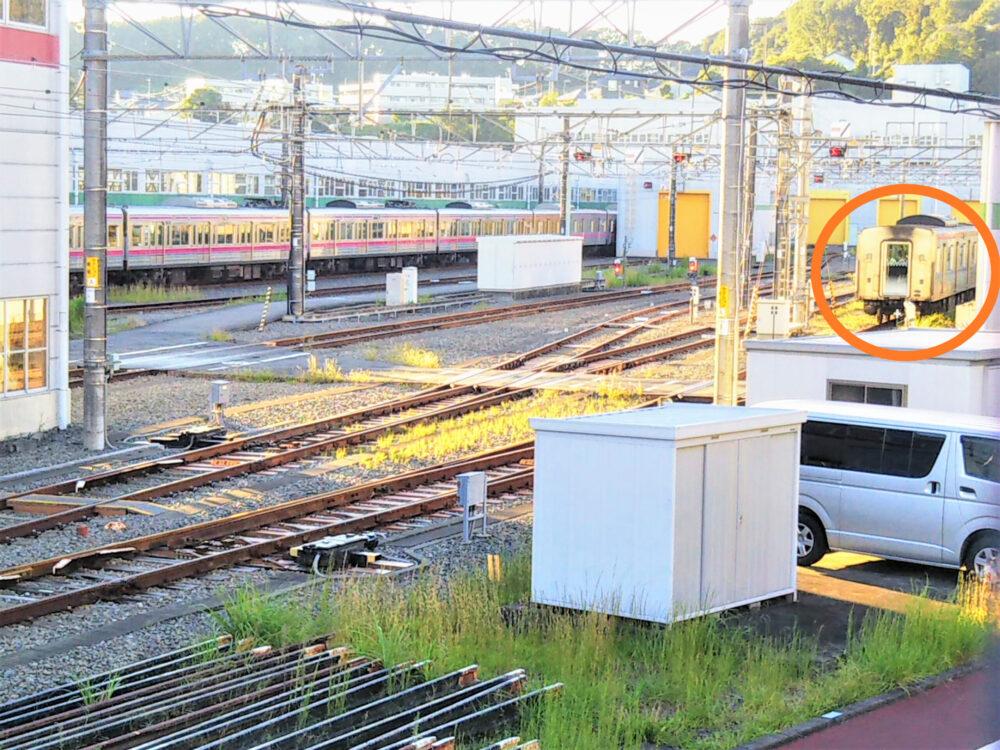 京王線の若葉台検車区|京王ライナーの車両